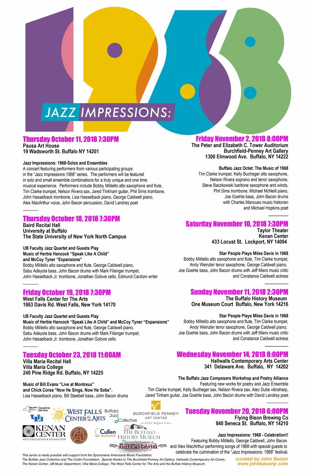 Jazz Impressions: 1968